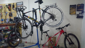 Sune's bicycle at CycleShop Lagos