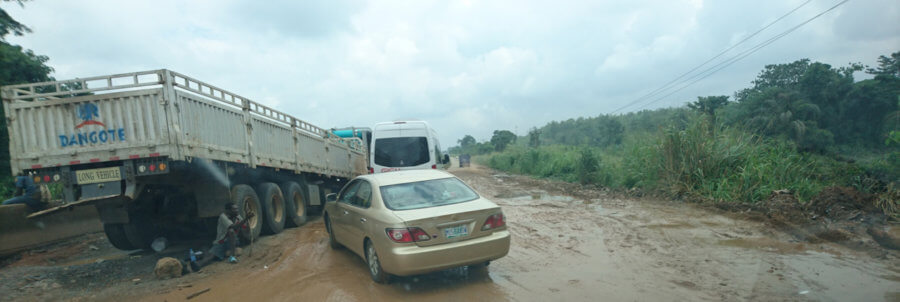Ore Ijebu Ode Highway in Nigeria