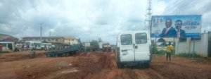 Bad Spots along Benin Auchi Road at Auchi, Edo, Nigeria