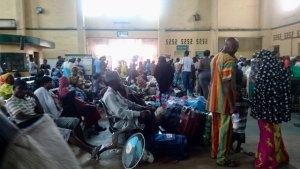 Lagos Terminus Departure Hall