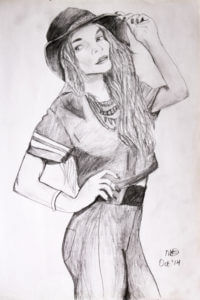 Young Lady with Cap