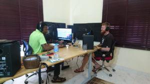 Sune at Rakatan Studios