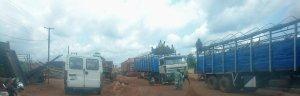 Benin Auchi Road at Ekpoma