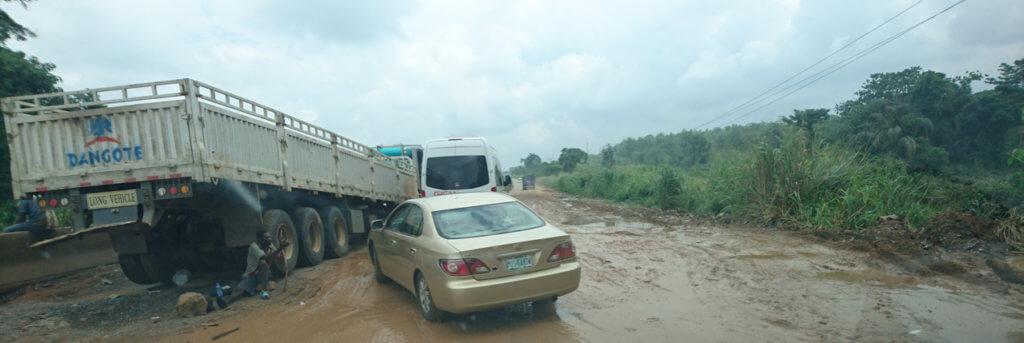 Ore Ijebu Ode Highway in Nigeria