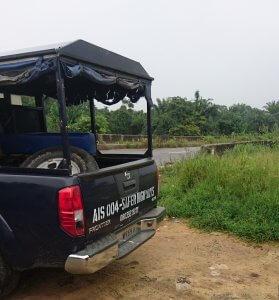 Nigeria Police HighWay Patrol Van