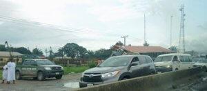 custom checkpoint along Lagos Benin Road