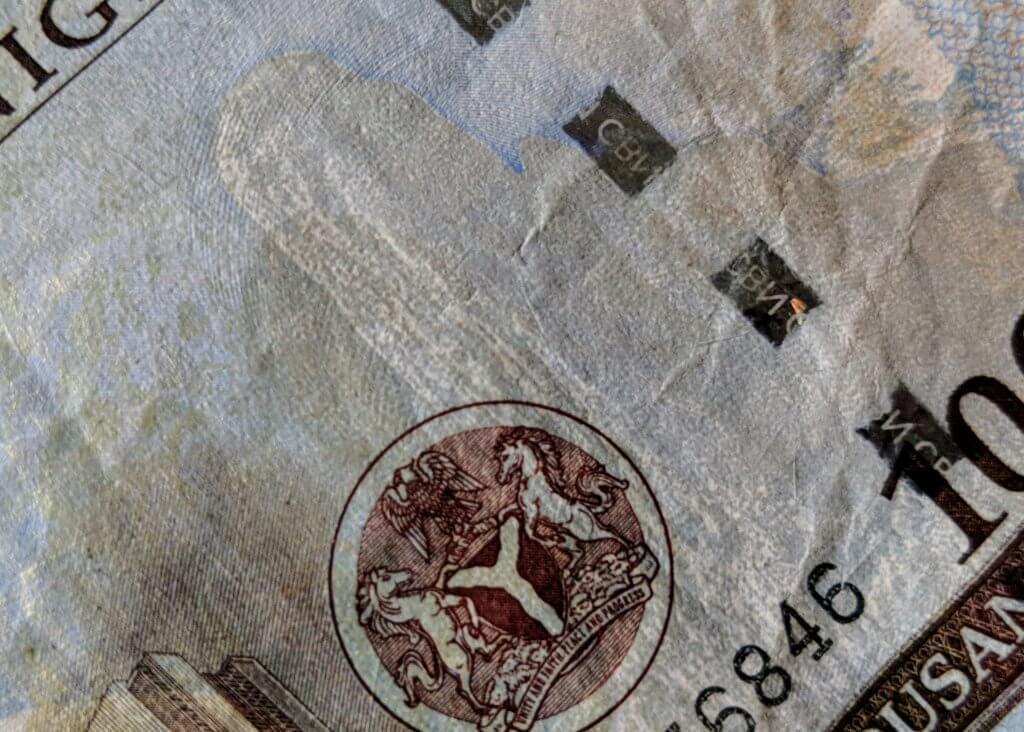 1000 naira note